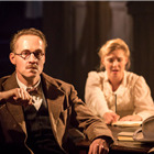 Peter McDonald and Amy Morgan in Travesties at the Apollo Theatre