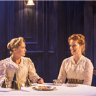 Amy Morgan and Clare Foster in Travesties at the Apollo Theatre