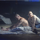 Samuel Barnett and Declan Bennett in Kiss of the Spider Woman at the Menier Chocolate Factory. Credit: Nobby Clark