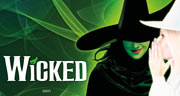 Book Wicked + Complimentary Glass Of Champagne & Ice Cream Tickets
