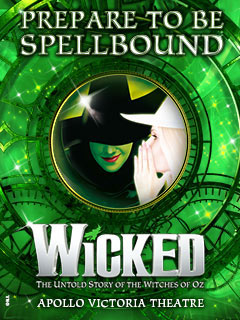 Book Wicked the musical tickets London - from LOVEtheatre