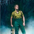 Alistair Brammer (Fiyero) in Wicked at the Apollo Victoria Theatre - photo credit Matt Crockett