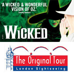 Book Wicked + FREE London Bus Tour Tickets