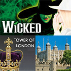 Book Wicked + Entry to the Tower Of London Tickets