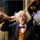 Harry Sutherland in Awful Auntie at Bloomsbury Theatre, London. Photo credit: Mark Douet
