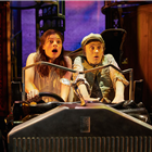 Georgina Leonidas and Ashley Cousins in Awful Auntie at Bloomsbury Theatre, London. Photo credit: Mark Douet