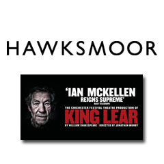 Book King Lear + 2 Course Pre-Theatre Dinner at Hawksmoor Seven Dials  Tickets