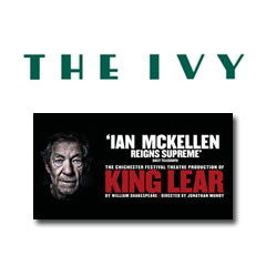 Book King Lear + 2 Course Post-Theatre Dinner at The Ivy Tickets