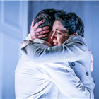 John Light and Amanda Abbington in The Son at the Kiln Theatre. Photo by Marc Brenner