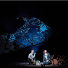 Patrick McNamee and Fiona Hampton in Touching the Void at  Duke of York's Theatre, London. Photo: Michael Wharley