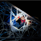 Angus Yellowlees and Josh Williams in Touching the Void at Duke of York's Theatre, London. Photo: Michael Wharley