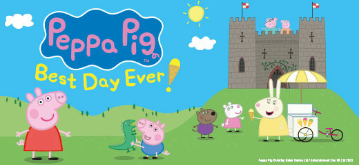 Peppa Pigs Adventure has now closed at the Theatre Royal Haymarket.
