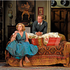 Blithe Spirit at the Duke of York's Theatre. Photo credit: Nobby Clarke.