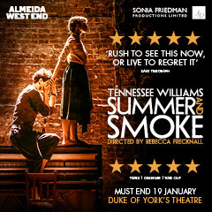Book Summer and Smoke Tickets