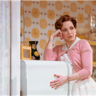 Katherine Parkinson in Home, I'm Darling at the Duke of York's