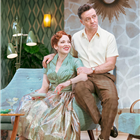 Katherine Parkinson and Richard Harrington in Home, I'm Darling at the Duke of York's