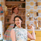 Katherine Parkinson and Siubhan Harrison in Home, I'm Darling at the Duke of York's