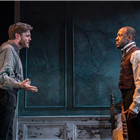 Tom Burke and Giles Terera in Rosmersholm at the Duke of Yorks Theatre - Photo by Johan Persson