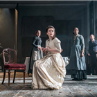 Hayley Atwell in Rosmersholm at the Duke of Yorks Theatre - Photo by Johan Persson