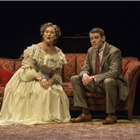 Cherry Jones as Amanda and Brian J. Smith as The Gentleman Caller. Photo: Michael J. Lutch