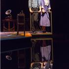 Michael Esper as Tom and Cherry Jones as Amanda. Photo: Johan Persson