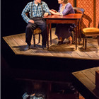 Michael Esper as Tom and Cherry Jones as Amanda. Photo: Johan Persson