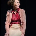 Nancy Carroll in The Moderate Soprano at the Duke of York's Theatre.