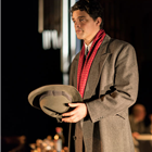 Jacob Fortune-Lloyd in The Moderate Soprano at the Duke of York's Theatre.