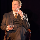 Anthony Calf in The Moderate Soprano at the Duke of York's Theatre.