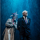 Lloyd Hutchinson and Ian McKellen in King Lear at the Duke of Yorks Theatre. Photo credit: Joahn Persson