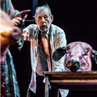 Ian McKellen in King Lear at the Duke of Yorks Theatre. Photo credit: Joahn Persson