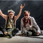 Ian McKellen and Danny Webb in King Lear at the Duke of Yorks Theatre. Photo credit: Joahn Persson