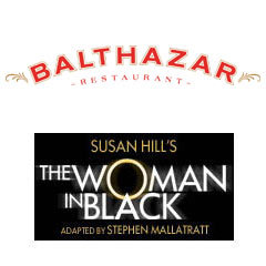 Book The Woman In Black + 2 Course Post-Theatre Dinner at Balthazar Tickets