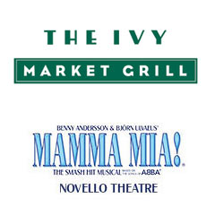 Book Mamma Mia! + 2 Course Pre-Theatre Dinner at The Ivy Market Grill Tickets
