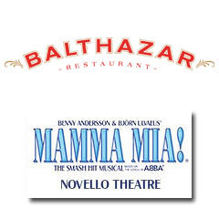 Book Mamma Mia! + 2 Course Post-Theatre Dinner at Balthazar Tickets