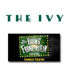 Book Young Frankenstein + 2 Course Post-Theatre Dinner at The Ivy Tickets