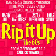 Book Rip It Up + 2 Course Post-Theatre Dinner at  The Ivy Tickets