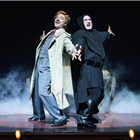 Hadley Fraser and Cory English in Young Frankenstein at the Garrick Theatre, London. Photo credit: Manuel Harlan