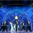 The West End cast of Young Frankenstein at the Garrick Theatre, London. Photo credit: Manuel Harlan