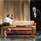Ioanna Kimbrook and John Malcokovich in Bitter Wheat at Garrick Theatre - Photo credit Manuel Harlan