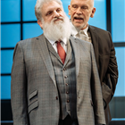 Teddy Kempner and John Malcokovich in Bitter Wheat at Garrick Theatre - Photo credit Manuel Harlan