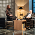 Doon Mackichan and John Malcokovich in Bitter Wheat at Garrick Theatre - Photo credit Manuel Harlan
