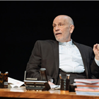 John Malcokovich in Bitter Wheat at Garrick Theatre - Photo credit Manuel Harlan