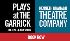 Keneth Branagh Plays at The Garrick tickets - LOVE Theatre