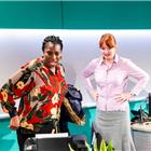 Tanya Moodie and Elizabeth Berrington in Rasheeda Speaking at Trafalgar Studios. Photo credit: Mitzi de Margary
