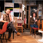 The cast of Lonely Planet at Trafalgar Studios, London. Photo credit: Richard Hubert Smith