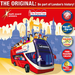 Book Original London Sightseeing Tour + Entry to the ZSL London Zoo Tickets