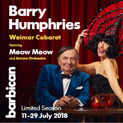 Book Barry Humphries