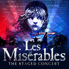 Book Les Misérables: The All-Star Stage Concert Tickets