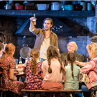 Owen McDonnell and the current cast of The Ferryman - Credit: Johan Persson